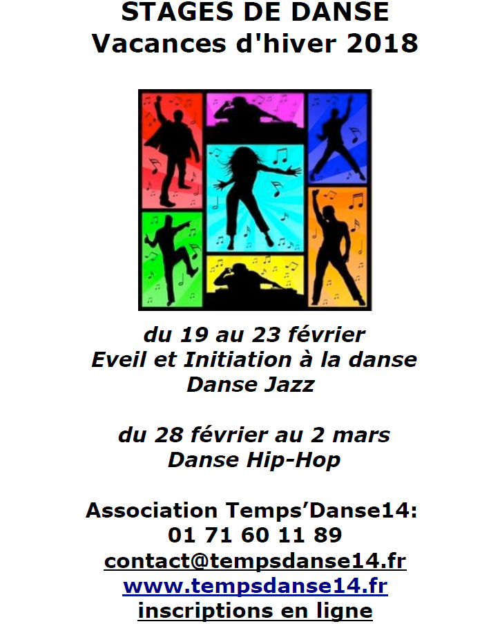 Stage temps danse