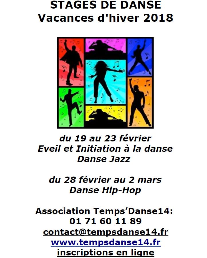 Stage temps danse