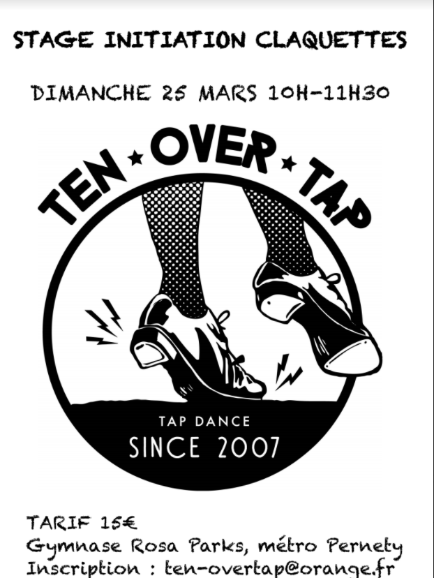 affiche ten over tape
