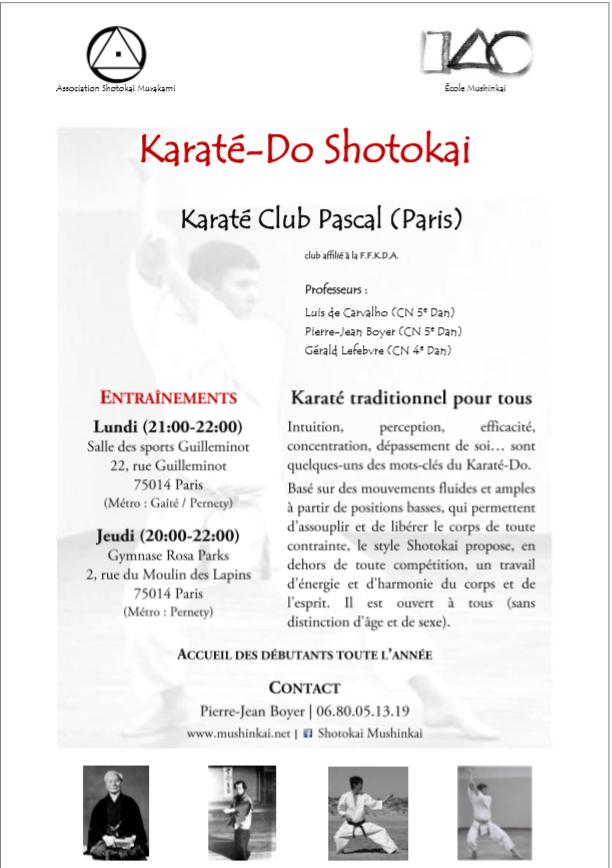 karate pascal